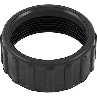 "Waterway Plastics 415-5001 2"" Union Nut - Black"
