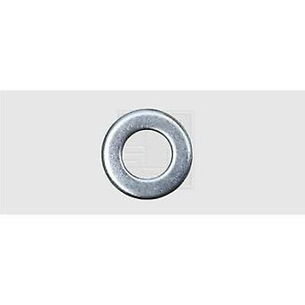 Washer 6.4 mm 12 mm Steel zinc plated 100 pc(s) SWG 407620