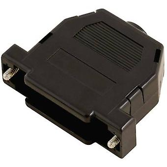 MH Connectors 2360-0101-02 D-SUB housing Number of pins: 15 Plastic 180 ° Black 1 pc(s)