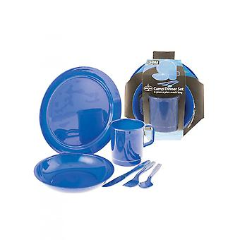 360 Degrees Dinner Set Blue