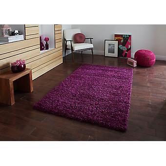 Vista - Plaine 2236 Violet Violet Rectangle Tapis unis / Près de plaine Tapis