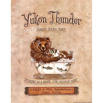 Yukon Thunder Poster Print par Kathy Jennings (11 x 14)