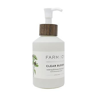 Farmacy Clear Bloom Makeup Glideaway Cleansing Oil 6oz/180ml Unboxed