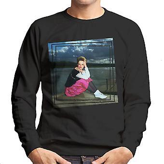 TV ganger Clare Grogan av endrede bilder menns Sweatshirt