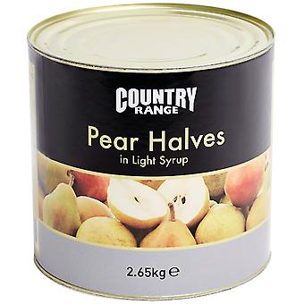 Country Range Pear Halves In Syrup