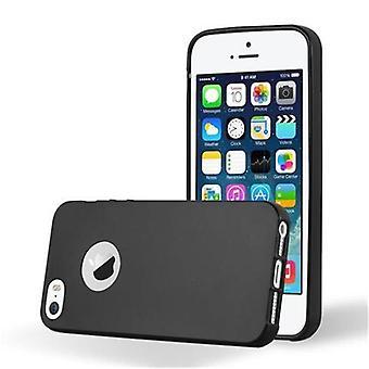 Cadorabo Hülle für Apple iPhone 5 / iPhone 5S / iPhone SE hülle case cover - Handyhülle aus flexiblem TPU Silikon – Silikonhülle Schutzhülle Ultra Slim Soft Back Cover Case Bumper