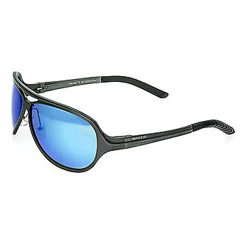 Breed Langston Aluminium Polarized Sunglasses - Gunmetal/Blue