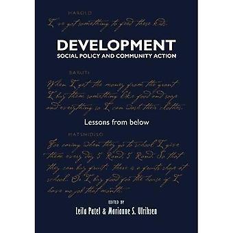 Utveckling, socialpolitik och gemenskapsåtgärder: lärdomar från nedan