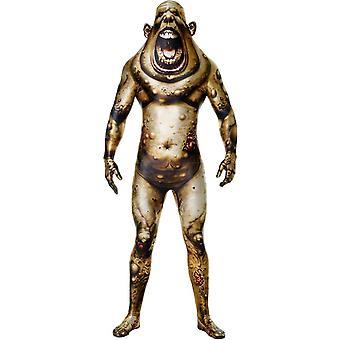 Morphsuit keitetään hirviö aikuisten puku