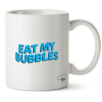 Hippowarehouse spise min bobler trykte krus Cup keramiske 10 Unzen