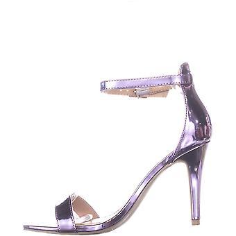 Material Girl Womens Blaire6 Toe aberta ocasião especial tornozelo cinta sandálias