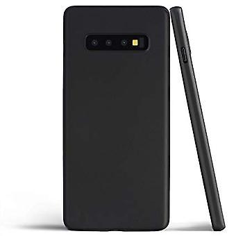 Samsung Galaxy S10E | Tynn, Matt svart veske