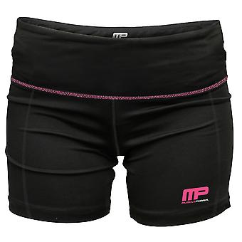 MusclePharm MP Womens Virus Compression Pro Shorts - Black