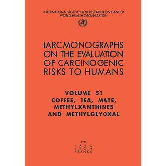 Coffee Tea Mate Methylxanthines and Methylglyoxal by IARC &