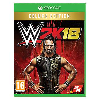 WWE 2K 18 LuxeUitgave Xbox One-spel
