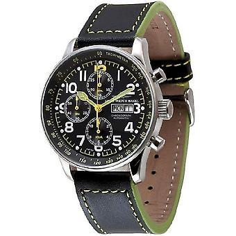 Zeno-watch mens watch X-large pilot chronograph-date special P557TVDD a19
