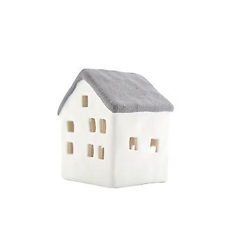 Light-Glow Small House with LED, Grey