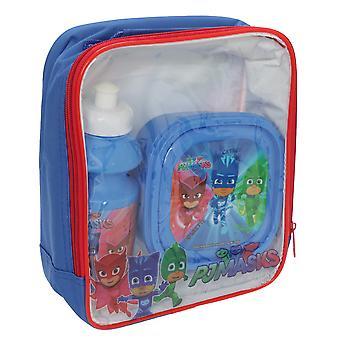 PJ maskit lasten/lasten lounas laukku