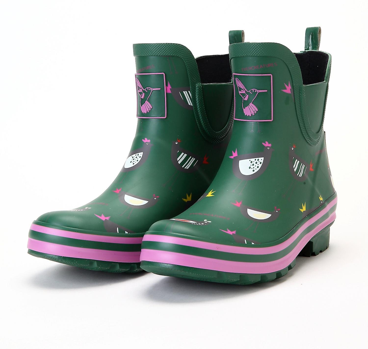 Evercreatures Womens Ankle Wellies Chicken Meadow Wellies Oq0oh