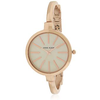 Anne Klein Rose Gold-tone montre et Bracelet Set Ladies Watch AK-1470RGST