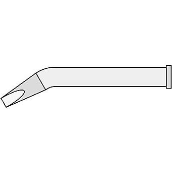 Weller XT MX Soldering tip Chisel-shaped, bent Tip size 3.2 mm Tip length 53.5 mm Content 1 pc(s)