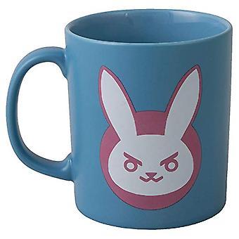Mug - Overwatch - D.VA Logo Blue Ceramic 11oz New j7857-blue