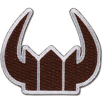 Patch - Black Rock Shooter - New Black Gold Saw Crown Licensed ge44534