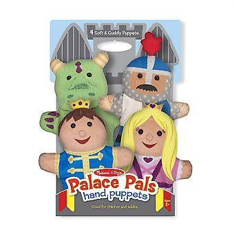 Childrens Melissa & Doug Palace Pals Hand Puppets Age 2+