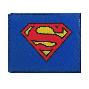 Superman Symbol auf Blue Bi-Fold Wallet