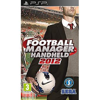 Football Manager 2012 (PSP)-fabriek verzegeld