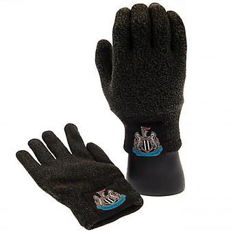 Newcastle United Luxury Touchscreen Gloves Youths