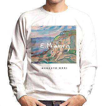 A.P.O.H Edvard Munch Beach Painting Memento Mori Men's Sweatshirt