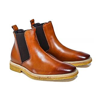 Joss Leather Chelsea Boots