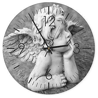 Reloj decorativo con imagen, ángel