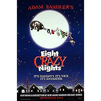 Eight Crazy Nights (Double Sided Advance) Original Cinema Poster (en)