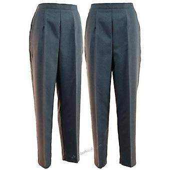 Damen Graue Schalen Hose