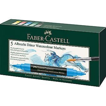 Faber-Castell Albrecht Durer Watercolour Markers Set of 5