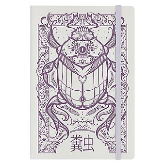 Grindstore Cryptic Beetle A5 Hard Cover Notebook