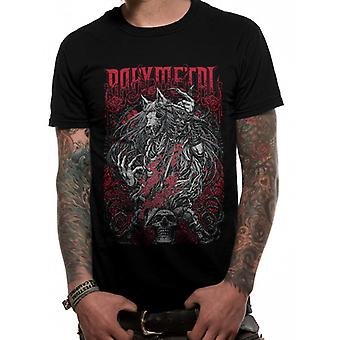 Babymetal-sort Rosewolf T-shirt