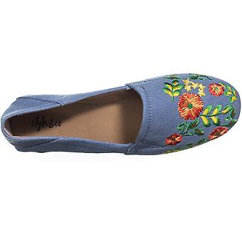 Style & Co. Womens Nixine Fabric Closed Toe Loafers