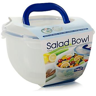Lock & Lock 4 Litre Airtight Salad Bowl With Ice Compartment And Handle