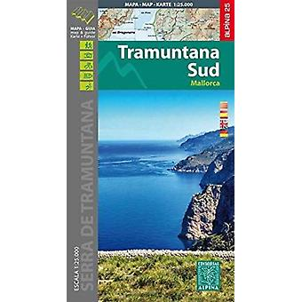 Mallorca Tramuntana Sud Karte und Wanderführer