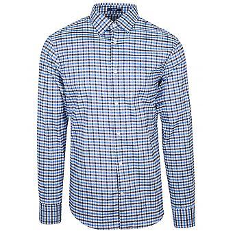GANT GANT Atlantic Blue Check Camiseta de Ajuste Regular