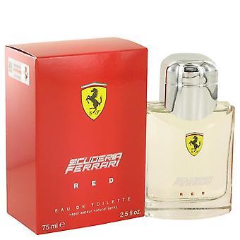 Ferrari Scuderia punainen Eau de Toilette Spray by Ferrari 501119 75 ml