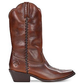 Patricia Nash Bergamo Boots Whiskey Leather 5.5M