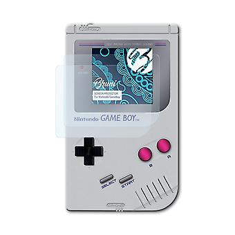 Bruni 2x Screen Protector compatibel met Nintendo Gameboy Protective Film