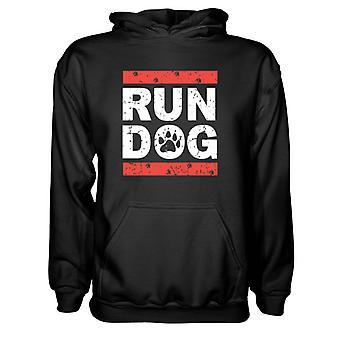 Herre Sweatshirts Hættetrøje- Run Hunde