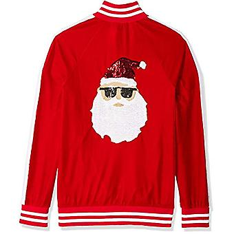 Blizzard Bay Men's Ugly Christmas Sweater Santa, Red/White, Small