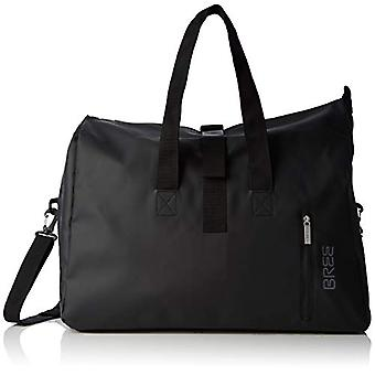BREE Collection Punch 723 Black Weekender S - Unisex Adult Black (Black) 25x44x50 cm (B x H T)