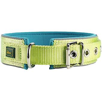 Hunter Collar Neopren Reflect Light Green (Dogs , Collars, Leads and Harnesses , Collars)